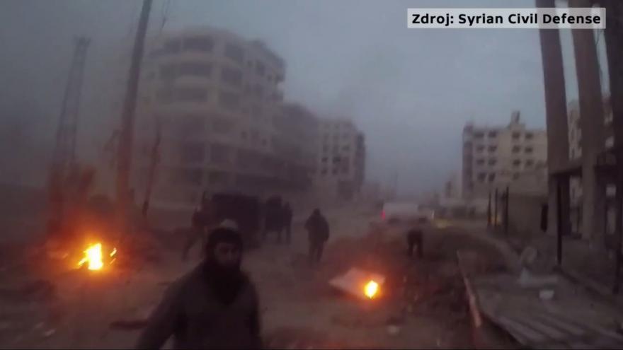 Video Sýrie: Exploze v Hazehu