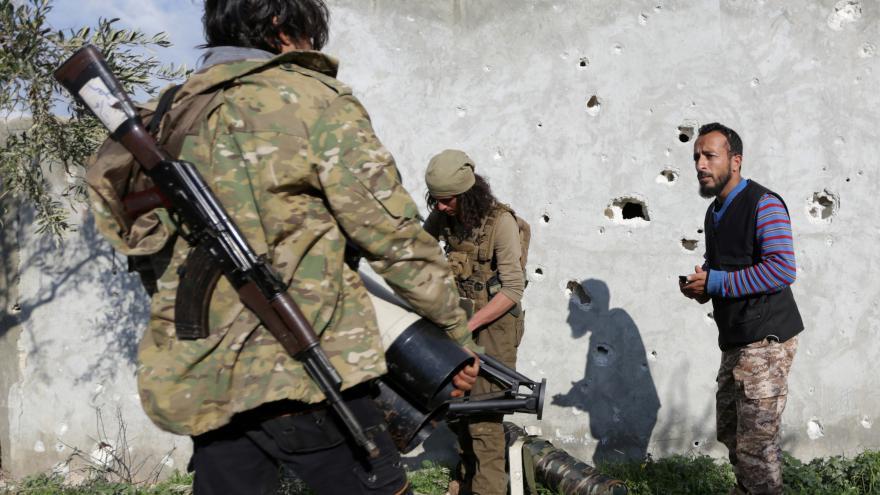 Video Turci chtějí ovládnout severosyrský Afrín