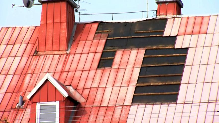Video Zprávy: Silný vítr udeřil na Šternebrk