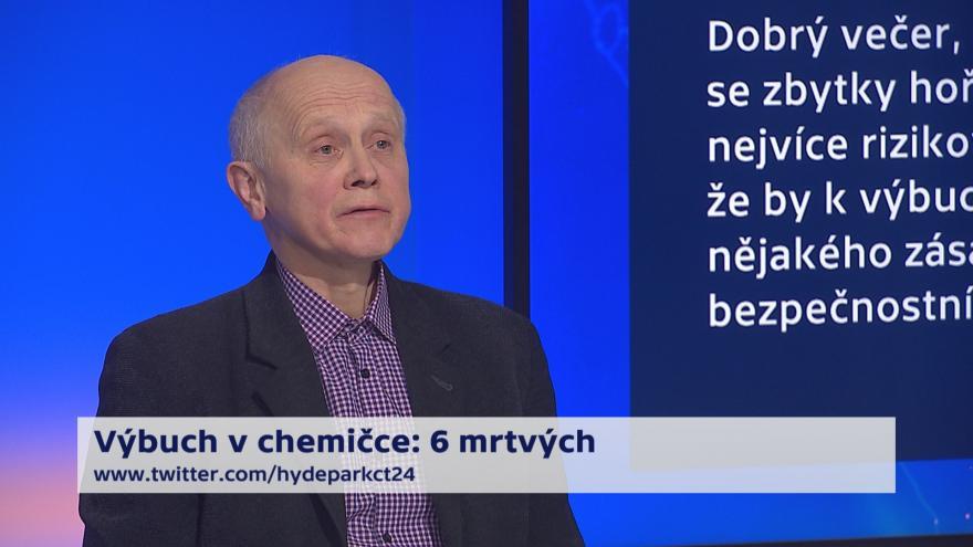 Video 90' ČT24 - Tragický výbuch v kralupské chemičce