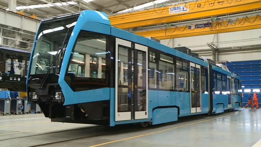 Video Nové tramvaje pro Ostravu