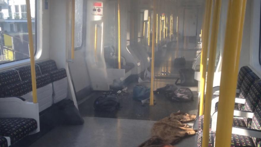 Video Výbuch v londýnském metru