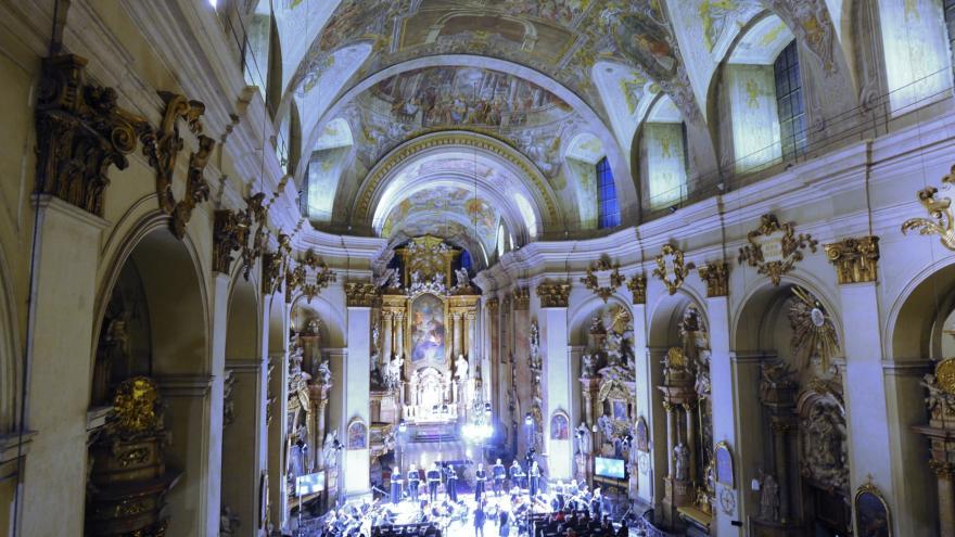 Video  Úvodní koncert festivalu hostil kostel svatých Janů v Minoritské ulici