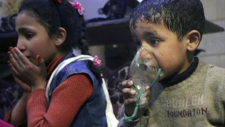 Video Další chemický útok v Sýrii?