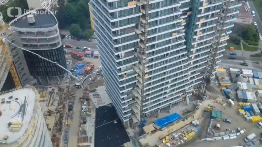 Video Stavba V-tower