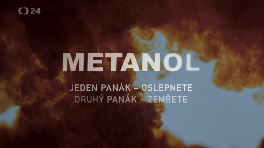 Video Ukázka z natáčení a z filmu Metanol