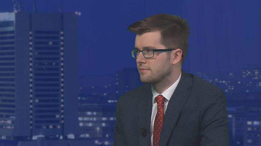 Video Události, Komentáře: místopředseda Pirátů Jakub Michálek k vyjednávání koalice