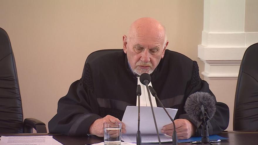 Video Vyhlášení nálezu Ústavního soudu