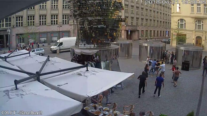 Video Útok na předzahrádce, zdroj: Policie ČR