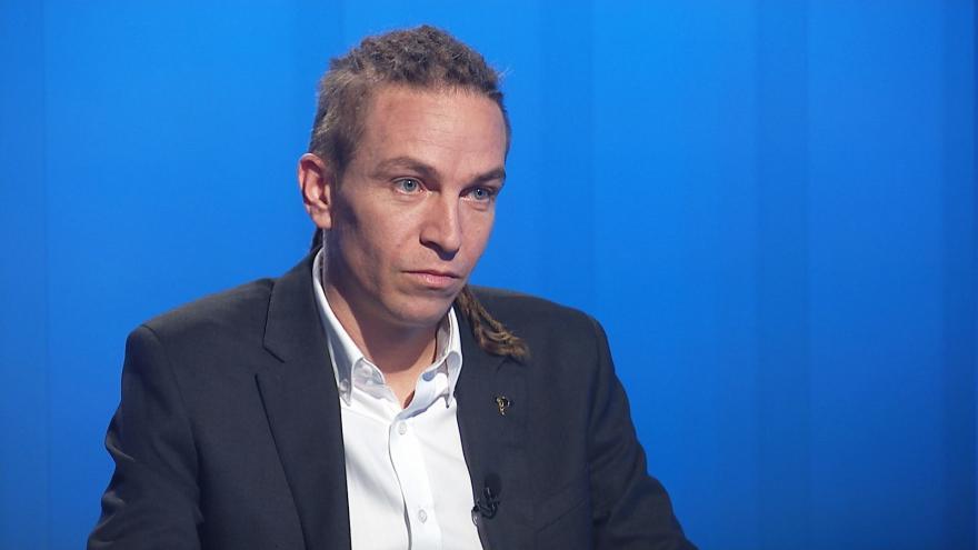 Video Ivan Bartoš (Piráti) hostem Interview ČT24