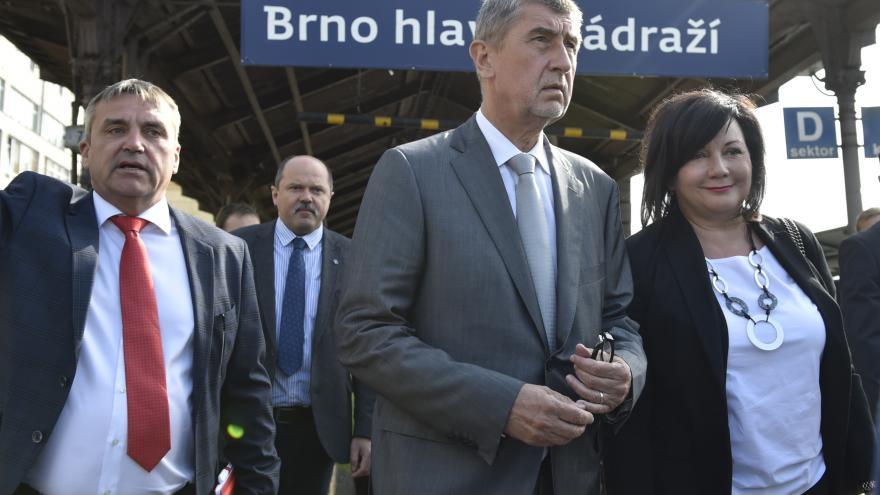 Video Události ČT: Babiše překvapila předpokládaná cena nového nádraží v Brně