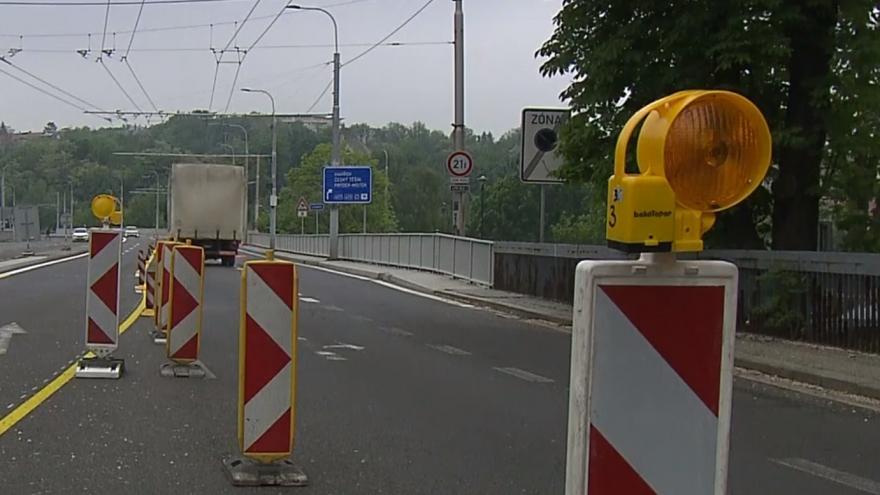 Video V centru Ostravy jsou dopravní komplikace