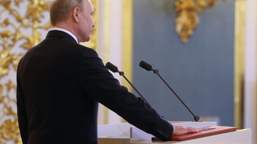 Video 90' ČT24 - Putin znovu vládne Rusku