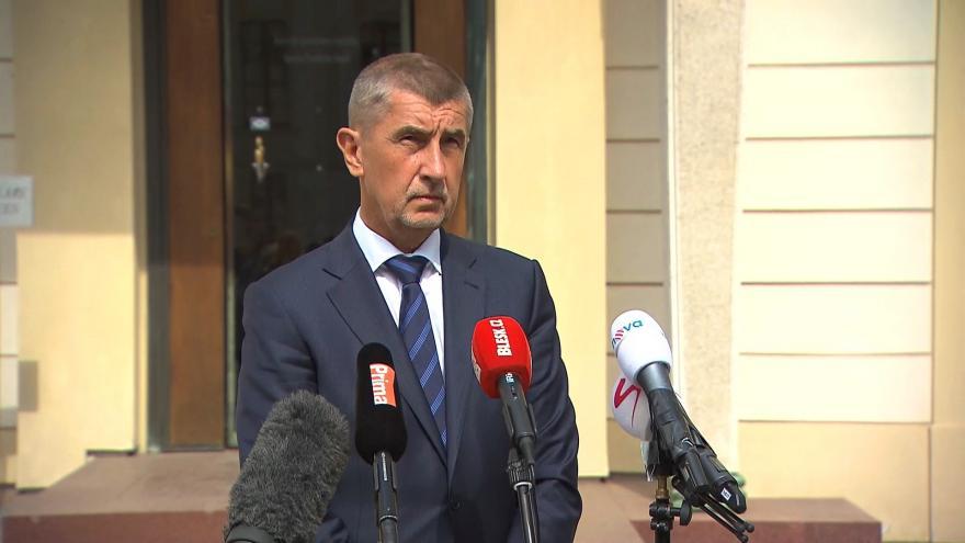 Video Babiš: Slíbil jsem prezidentovi text dohody s ČSSD