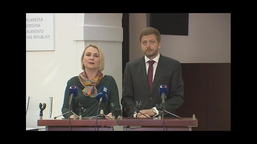 Video Vyjádření komise pro kontrolu Vojenského zpravodajství