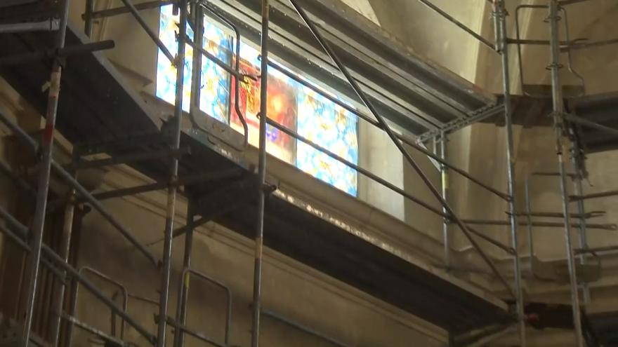 Video Oprava kaple sv. Anny