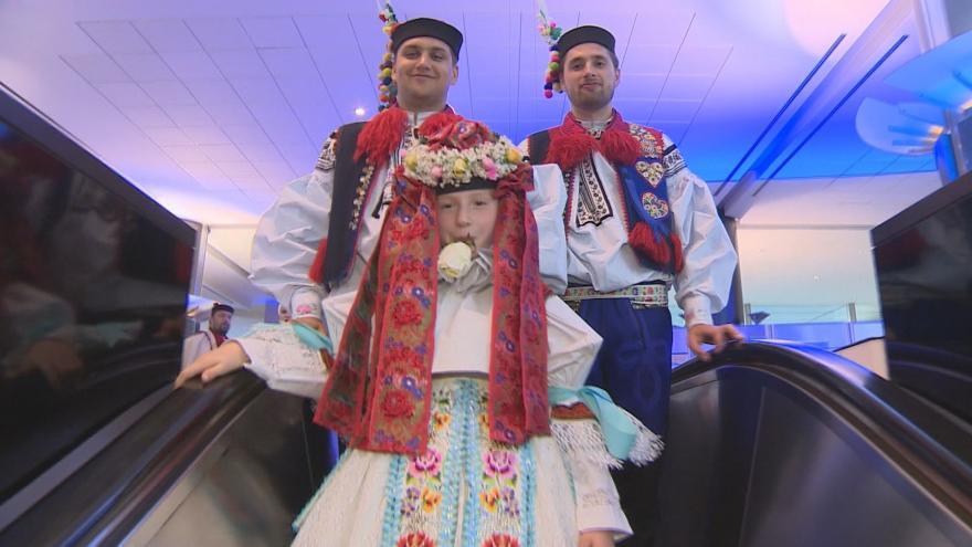 Video Do budovy europarlamentu dorazila tradiční Slovácká Jízda Králů