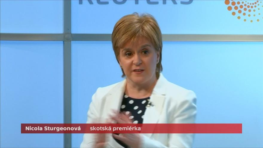 Video Sturgeonová: Proces brexitu se může zhroutit ještě dřív, než pořádně začne