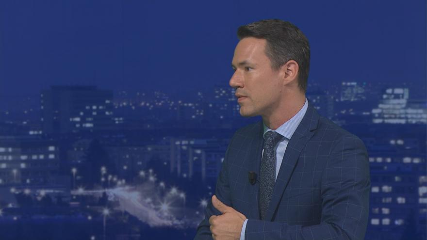Video Události, komentáře: Bývalý zpravodaj ČT v USA Martin Řezníček