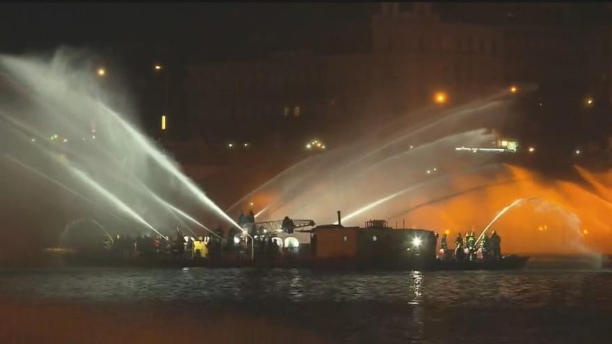 Video Záznam hasičské fontány