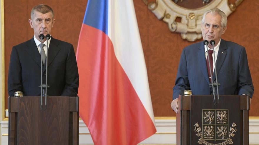 Video Mimořádné pořady ČT24 - Jmenování premiéra