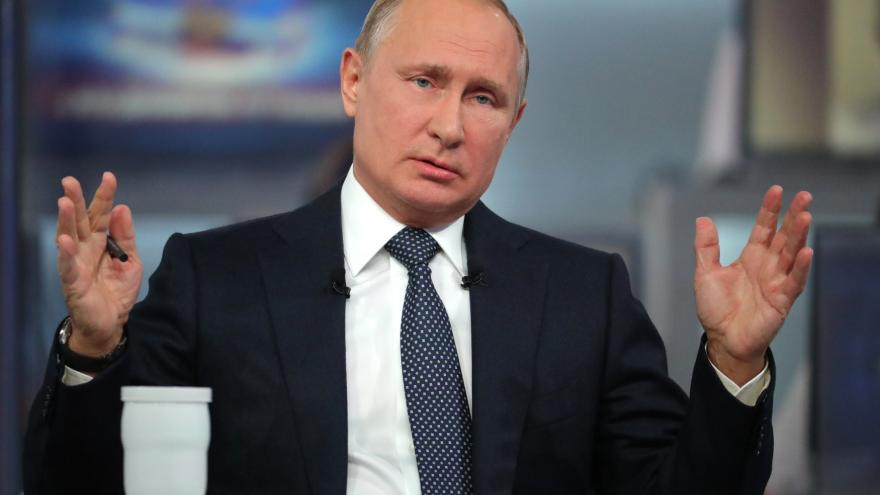 Video Události ČT: Putin mnoho hodin odpovídal na dotazy Rusů