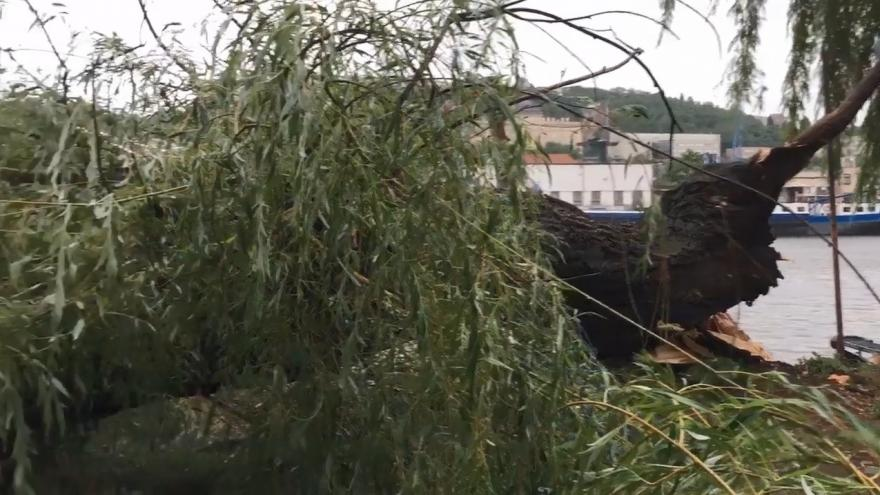 Video Události ČT: V Česku udeřily velmi silné bouřky