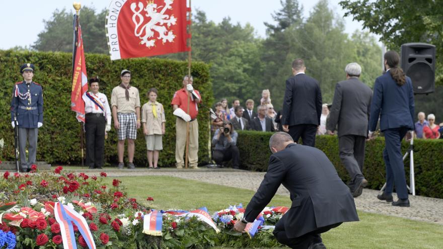 Video Mimořádné pořady ČT24 - Pietní vzpomínka k 76. výročí vyhlazení obce Lidice