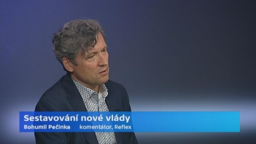 Video Komentátor Bohumil Pečinka k sestavování vlády