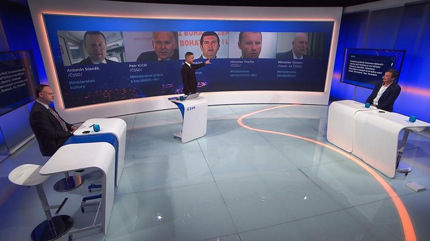 Video 90' ČT24 - Končí referendum ČSSD o vstupu do vlády