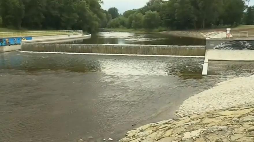 Video Zprovoznění Staroměstského stupně na řece Ostravici