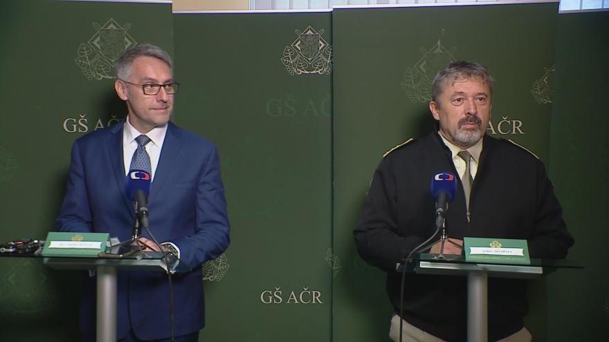 Video Tisková konference po setkání Lubomíra Metnara a Aleše Opaty