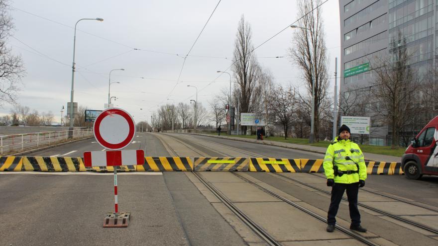 Video Dopravní omezení v Praze