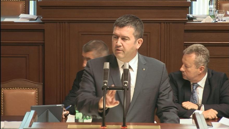 Video Předseda ČSSD Jan Hamáček žádá o důvěru vládě