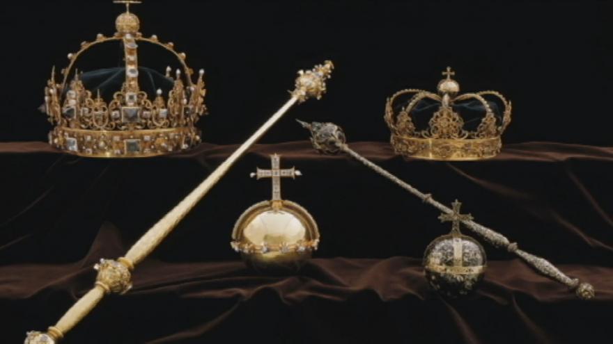 Video Ukradené královské klenoty ve Švédsku