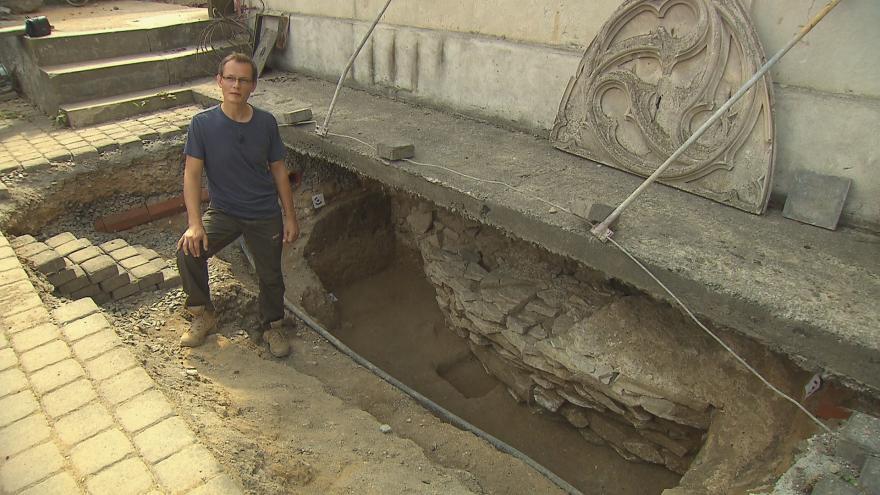 Video Rozhovor s vedoucím archeologického výzkumu na Vyšehradě Ladislavem Varadzinem