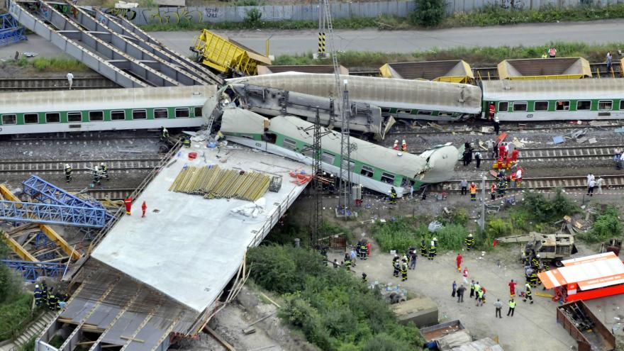 Video Vlakové neštěstí znovu u soudu