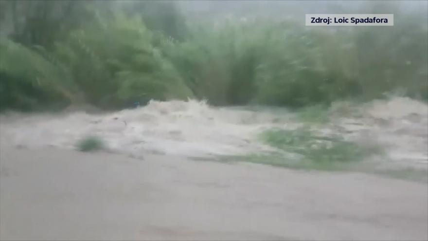 Video Jih Francie zasáhly bleskové povodně