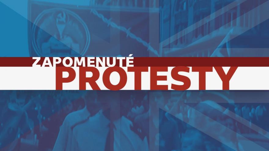 Video Bohumil Vostal: Zapomenuté protesty