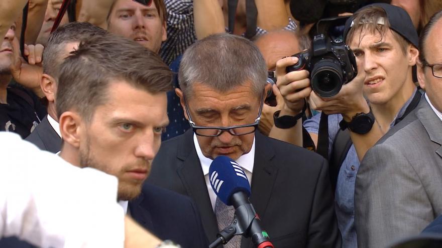 Video Projev premiéra Andreje Babiše  /ANO/