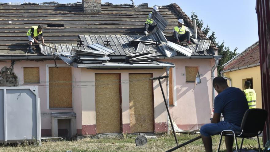 Video Začala demolice bytových domů v Kroměříži