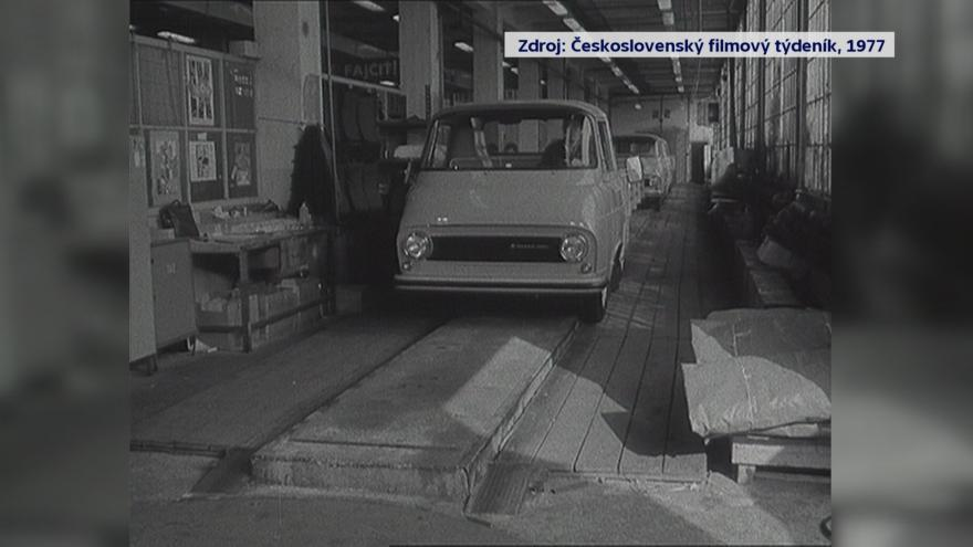 Video Výroba aut Škoda 1203 v Trnavě