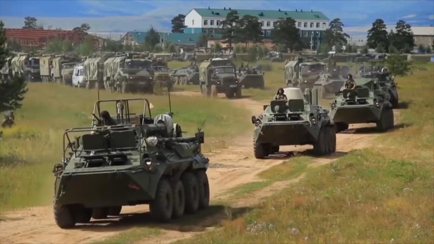 Video Vostok 2018: největší vojenské manévry v Rusku od konce studené války