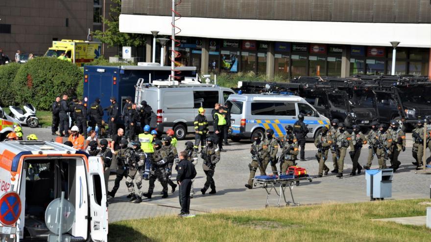 Video Události ČT: V Praze proběhlo dosud největší protiteroristické cvičení