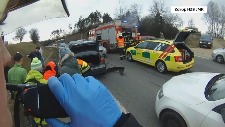 Video Tři ocenění zachránili život řidiči