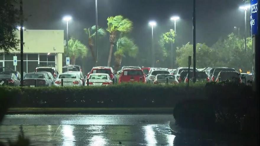 Video Hurikán Florence v Severní Karolíně