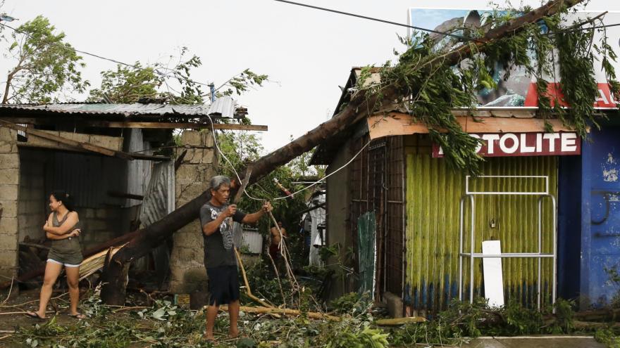 Video Zpravodajka ČT Šámalová: Filipíny jsou na tajfun lépe připravené než v minulosti