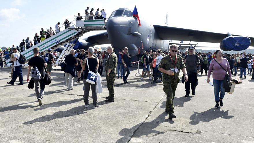 Video ŽIVĚ: Dny NATO na letišti v Mošnově
