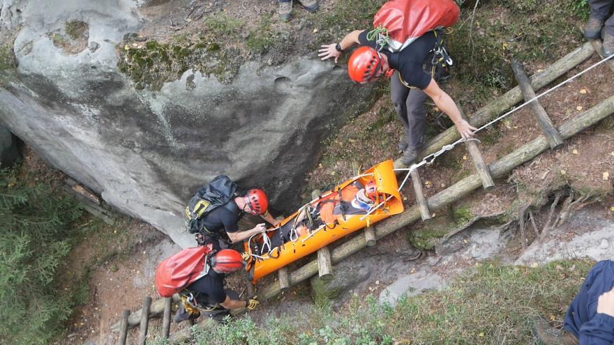 Video Společné cvičení českých a polských hasičů