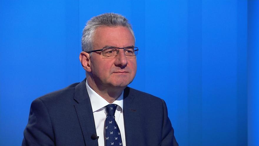 Video Europoslanec Jan Zahradil (ODS) hostem Interview ČT24
